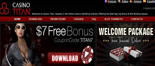 Casino Titan Promotion