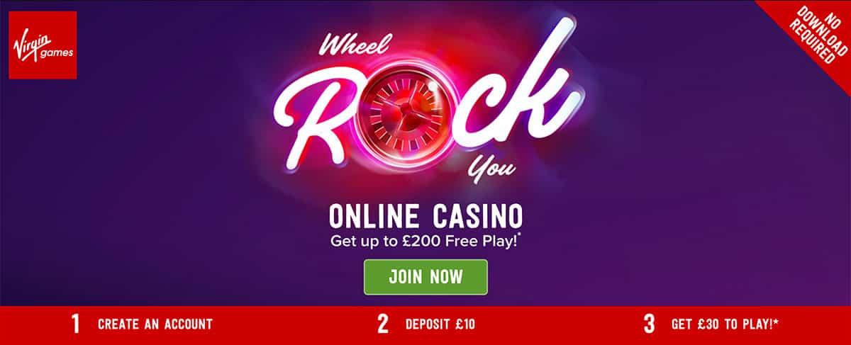 virgin casino online slots